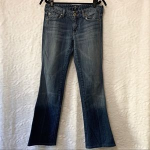 """7 For All Mankind """"A pocket"""" Flare Jeans"""